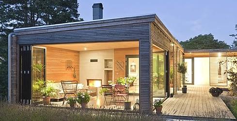 Компания Schiedel и современный дом