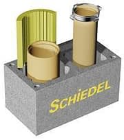 Дымоход для двух котлов - Schiedel DUAL