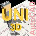 Schiedel UNI в 3D Скачать материалы для AutoCAD