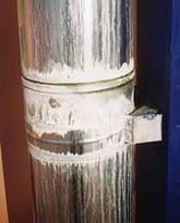 Коррозия дымоходной трубы